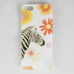 Floral Giraffe Safari iPhone 5 Cover