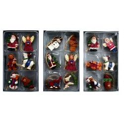 Box of Six Mini Wooden Nostalgia Hangers