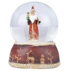 Nostalgia Santa Snow Dome